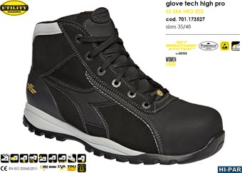 Bota Glove Tech high pro S3 SRA HRO ESD GEOX 701.173527