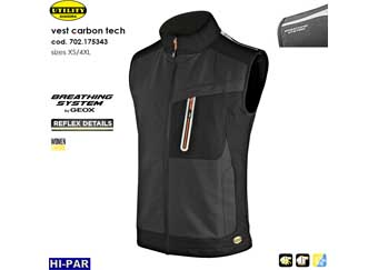 Chaleco Vest carbon tech BREATHING SYSTEM by GEOX 702.175343