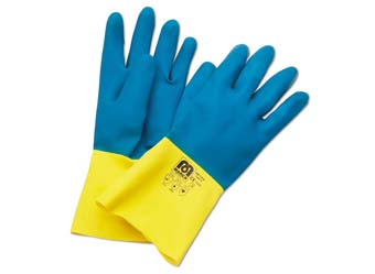 Guantes Latex refuerzo Neopreno Ref 688-LB N