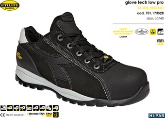 Zapatilla Glove Tech Low Pro S3 SRA HRO ESD GEOX 701.173528